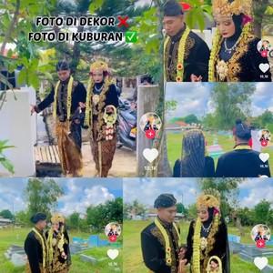 Ini Kisah Lengkap Viral Pengantin Madura Sesi Foto Pernikahan di Kuburan
