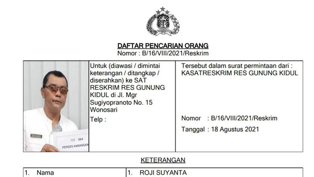 Lurah Gunungkidul DPO Korupsi Rp 5 M Uang Ganti Rugi JJLS Akhirnya Menyerah