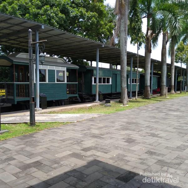 Museum Ambarawa memiliki 5 kereta