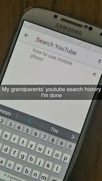 Momen gaptek orang tua