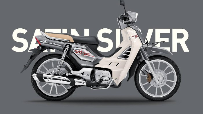 Motor bebek GPX Rock Metal 2021
