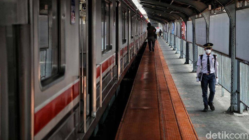 Perjalanan KRL Manggarai-Bogor Terganggu, Sebagian KRL Hanya Sampai Depok