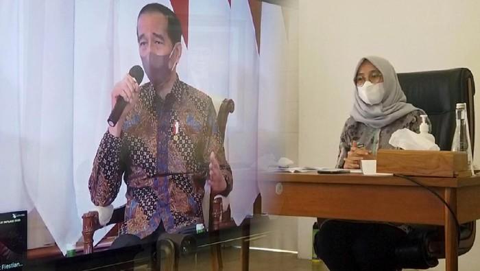 Bupati Ipuk Dialog Interaktif dengan Presiden Jokowi