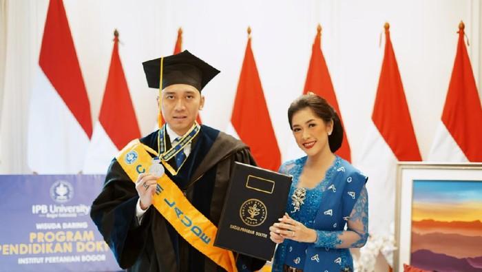Edhie Baskoro Yudhoyono lulus Program Doktor Manajemen Bisnis IPB