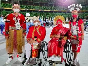Atlet Difabel RI Berbaju Adat di Paralimpiade Tokyo, Ini Makna Keindahannya