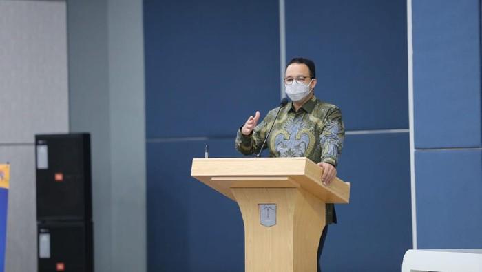 Gubernur DKI Jakarta Anies Baswedan (Tiara Aliya-detikcom)