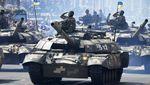 Hari Kemerdekaan, Militer Ukraina Unjuk Kekuatan