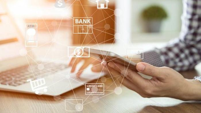 Ilustrasi perbankan digital