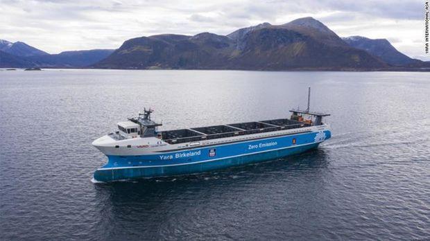Kapal listrik otonom Yara Birkeland
