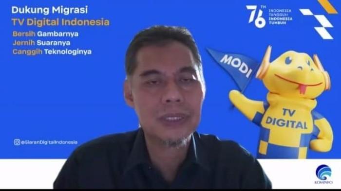 Direktur Penyiaran Kementerian Kominfo, Geryantika Kurnia