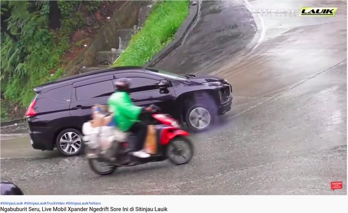 Mobil Xpander Tak Kuat Nanjak Sitinjau Lauik