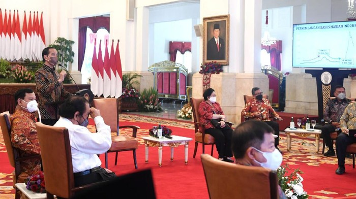 Pertemuan Jokowi dengan Partai Koalisi