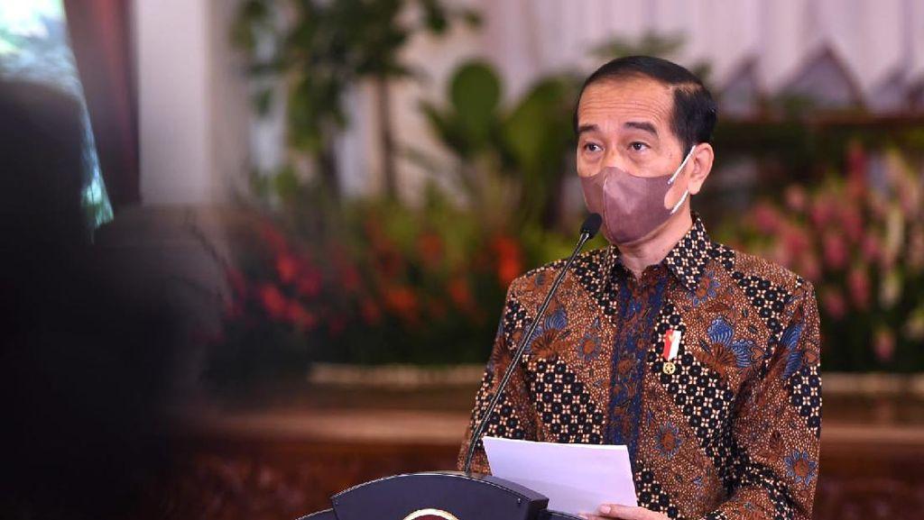 Jokowi Bertemu Pengusaha Bahas Pembangunan Ibu Kota Baru