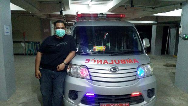 Sopir ambulans yang salip iring-iringan Presiden Jokowi