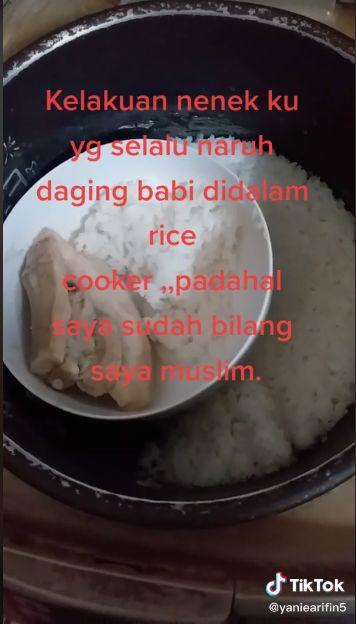 TKW Curhat Sulit Makan karena Majikan  Simpan Daging Babi di Rice Cooker