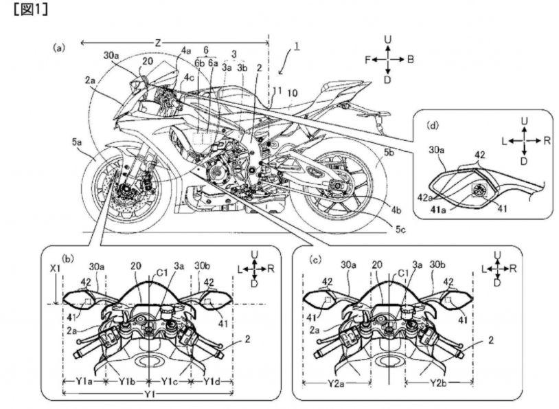 Yamaha ajukan hak paten sensor radar