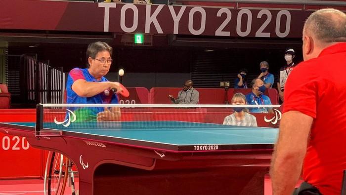 Adyos Astan dan David Jacobs lolos fase grup paralimpiade Tokyo 2020.