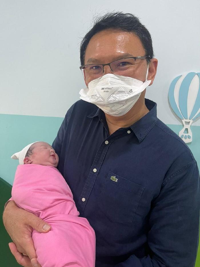 Ahok dan putrinya Sarah Eliana Purnama
