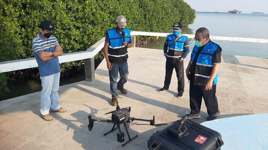 BIG Lakukan Pemetaan di Kawasan Taman Nasional Kepulauan Seribu