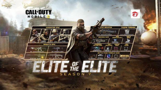 Call of Duty: Mobile Hadirkan Battle Pass Season 7 Elite of The Elite