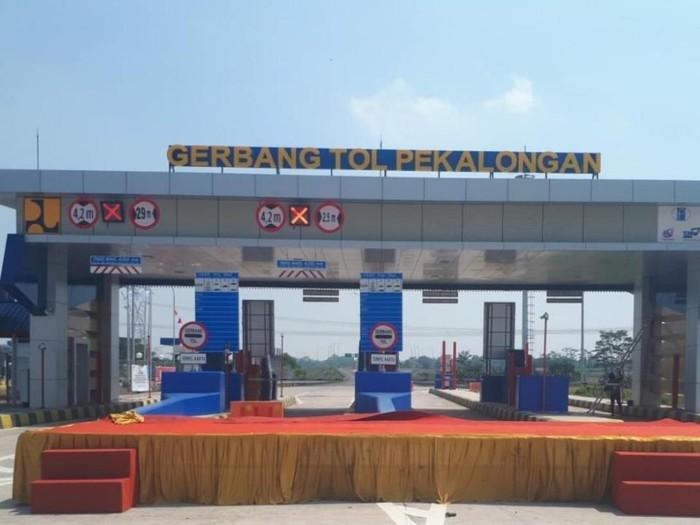 Gerbang Tol Pekalongan, Bojong, Kabupaten Pekalongan akan dibuka besok, Jumat (26/8/2021).