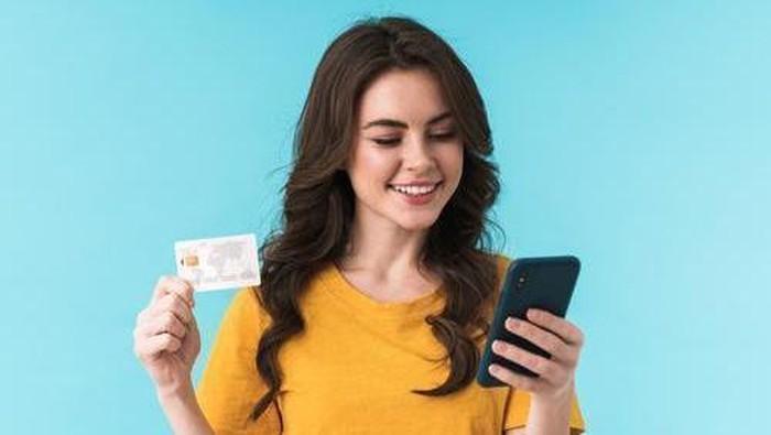 Ilustrasi transaksi digital