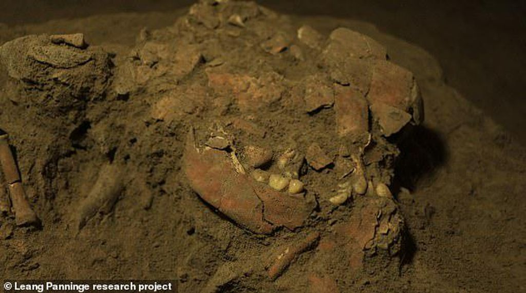 Misteri Kerangka Manusia Purba 7.200 Tahun di Sulawesi Terungkap