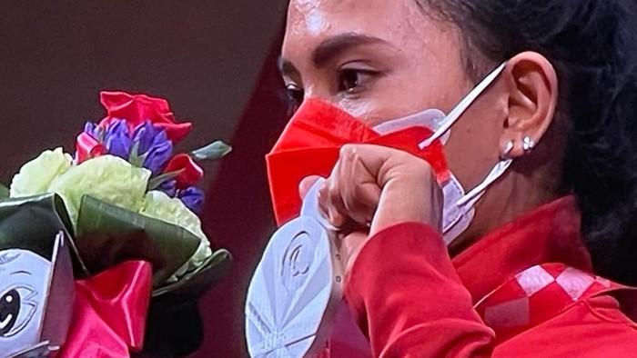 Ni Nengah Widiasih meraih perak di Paralimpiade Tokyo 2020.