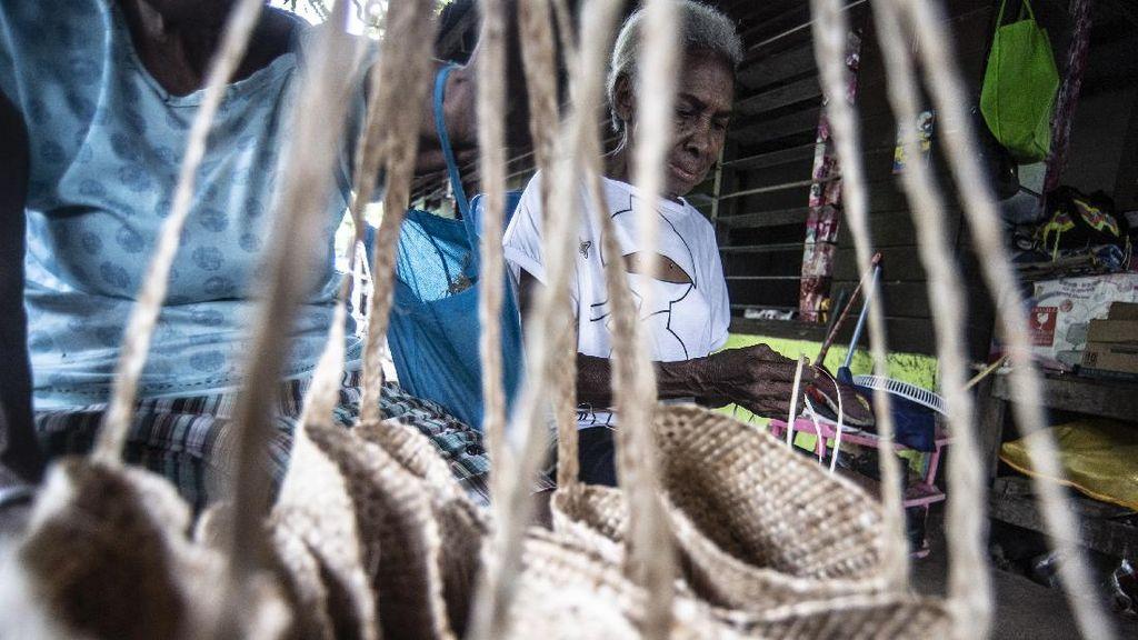 25 Ribu Noken Papua Disiapkan Jadi Suvenir PON XX