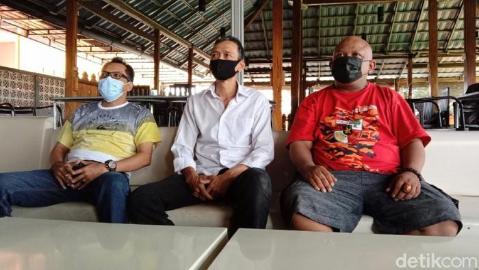 Pengurus MPC PP Kebumen menyampaikan keterangan pers, Kamis (26/8/2021).
