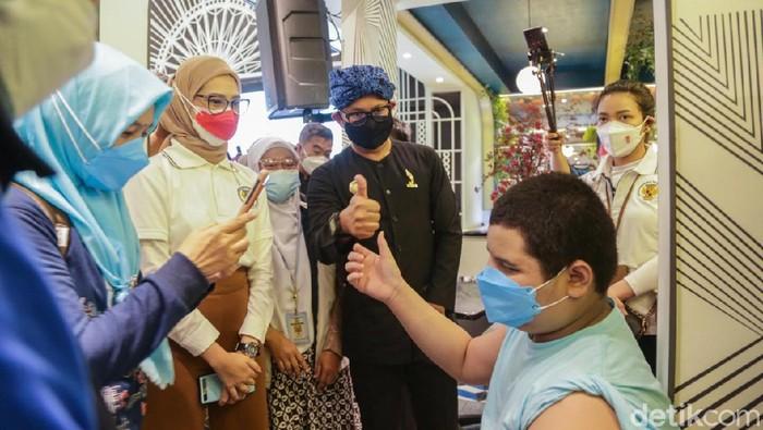 Ratusan penyandang disabilitas di Bogor vaksinasi COVID-19