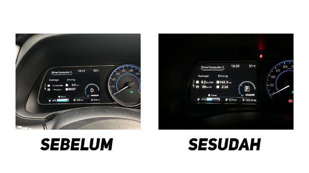 Tes Jakarta-Bandung Nissan Leaf
