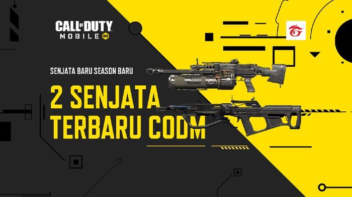 2 Senjata Terbaru yang Akan Hadir di Garena Call of Duty: Mobile