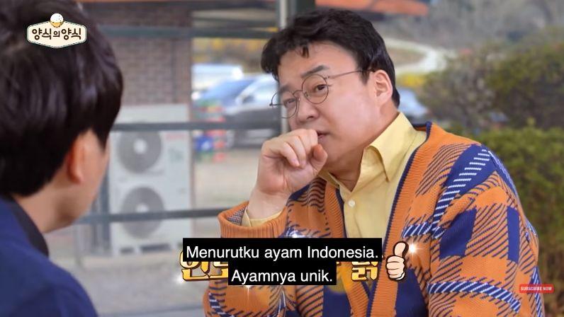 Changmin TVXQ Kepincut Ayam Kremes khas Jawa