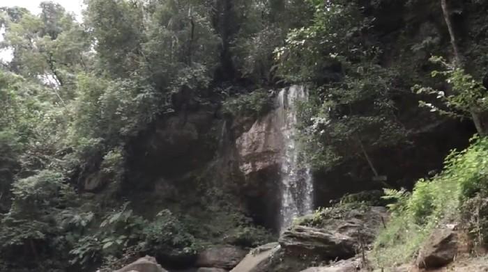 Green Canyon Kampar (Foto: Tangkapan layar video di Rumah Digital Indonesia)