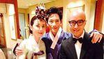 10 Potret Ji Sung dan Lee Bo Young dari Awal Kenal hingga Menikah