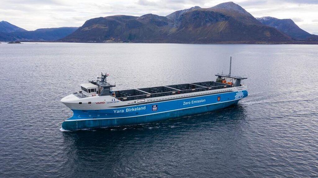 Ini Kapal Kargo Hantu Pertama di Dunia, Seberangi Laut Norwegia Tanpa Awak