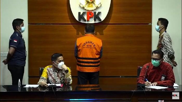Konpers penetapan tersangka Walkot Tanjung Balai M Syahrial Jadi Tersangka Lelang Jabatan