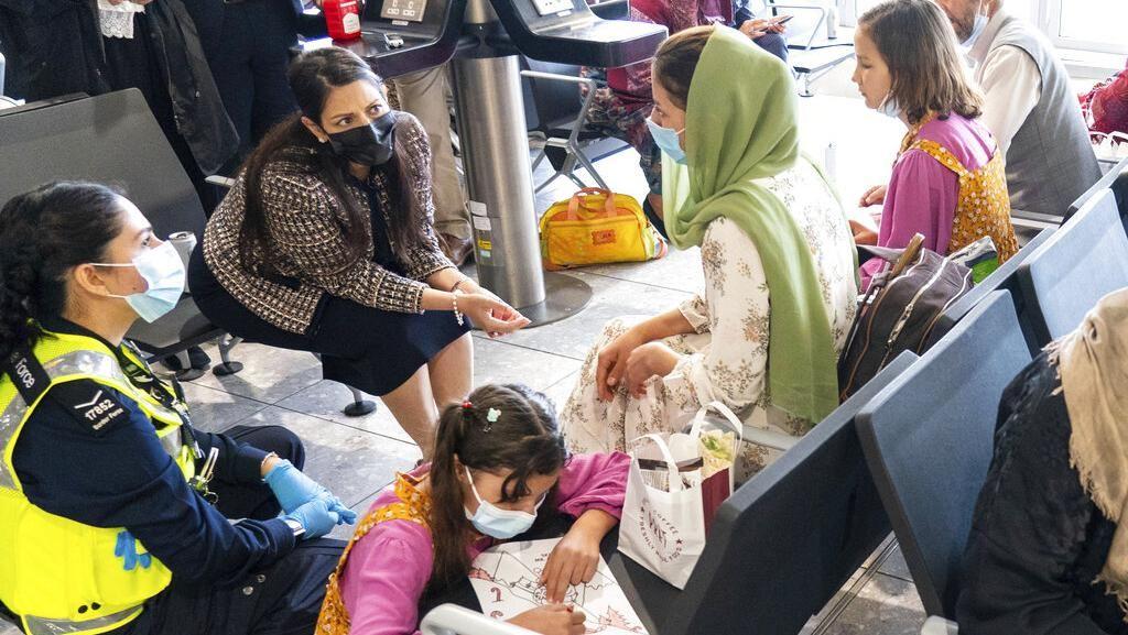 Intip Kondisi Kamp Pengungsi Afghanistan di Italia