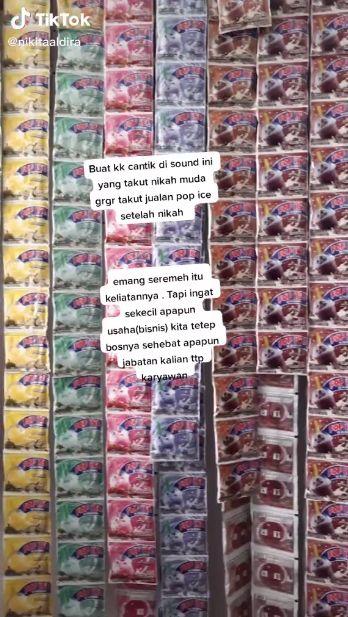 Kisah Sukses Penjual Pop Ice yang Bisa Beli Rumah dari Hasil Jualan