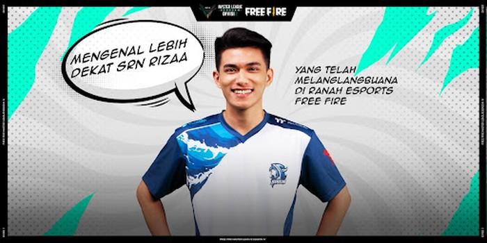 Sepak Terjang GPX Rizaa di Ranah Esports Free Fire