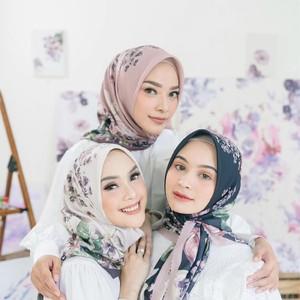 6 Tutorial Hijab untuk Wajah Bulat dan Tembem Agar Terlihat Tirus