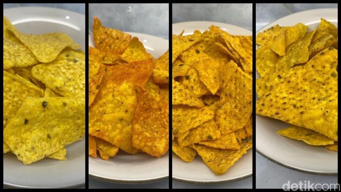 4 Keripik Tortilla Rasa Jagung Bakar, Mana Paling Krenyes Gurih?