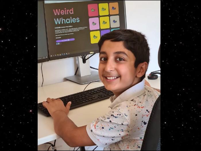 Benyamin Ahmed, bocah 12 tahun yang raup Rp 5,7 miliar dari jualan NFT