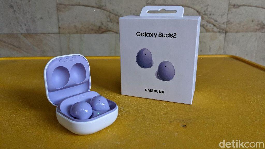 Unboxing Samsung Galaxy Buds 2, TWS Murah Meriah dengan ANC