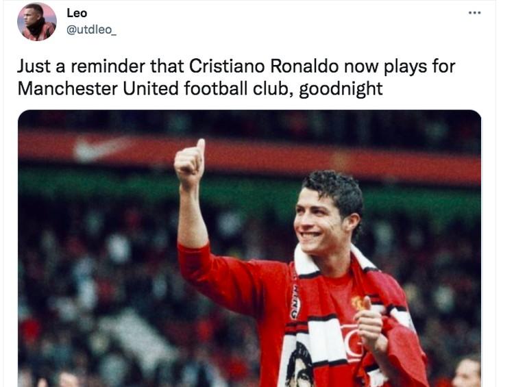 Meme Ronaldo MU