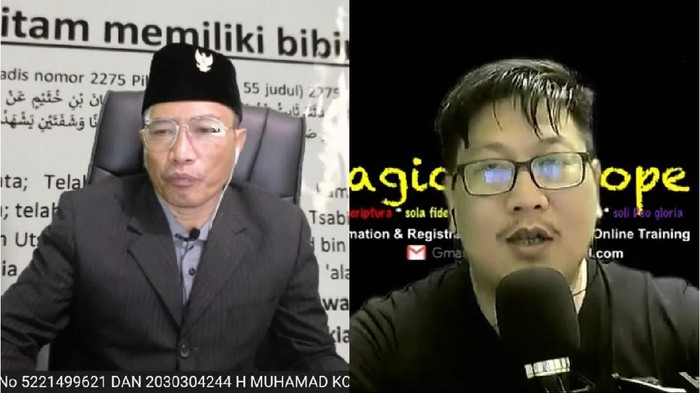Muhammad Kece dan Jozeph Paul Zhang, YouTuber yang jadi tersangka penodaan agama