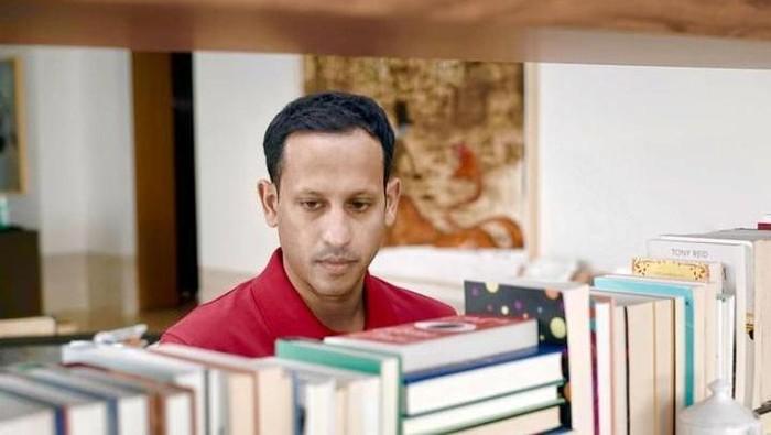 Nadiem Makarim dan buku-bukunya