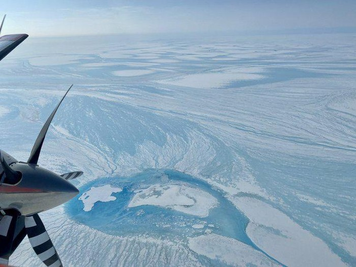 Lapisan es Greenland mencair.