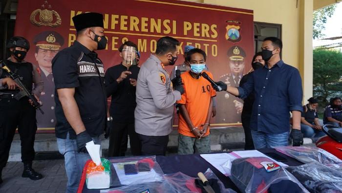 pembunuhan Karyawan Warung Sate di mojokerto